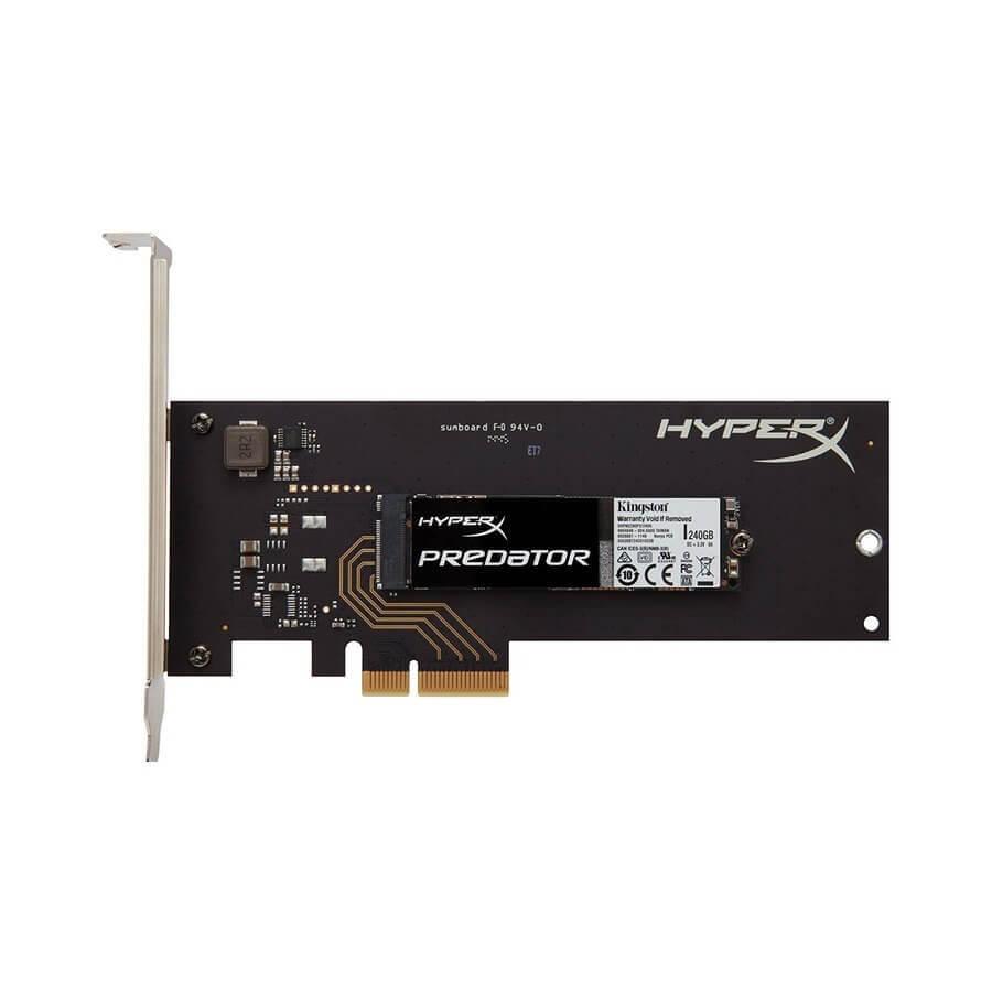 اس اس دی کینگستون HyperX Predator PCIe Gen2 x4 M.2 240GB