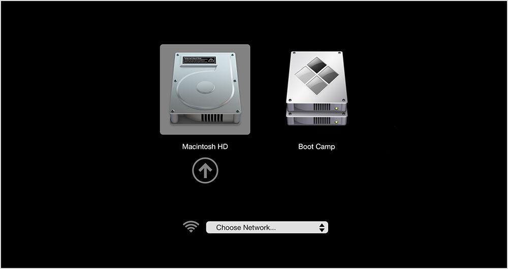 نصب ویندوز روی مک | بوت کمپ