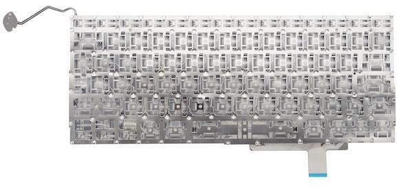 کیبورد مک بوک پرو ۱۷ اینچ ۲۰۱۱ مدل A1297