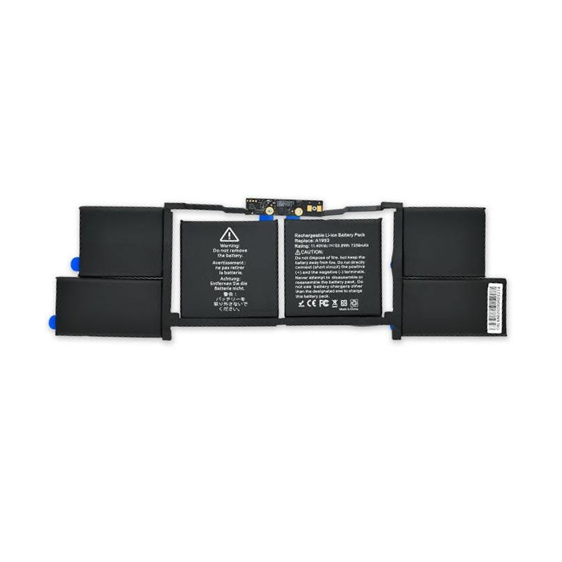 باتری مک بوک پرو ۱۵ اینچ ۲۰۱۸ مدل A1990 - مدل باتری A1953