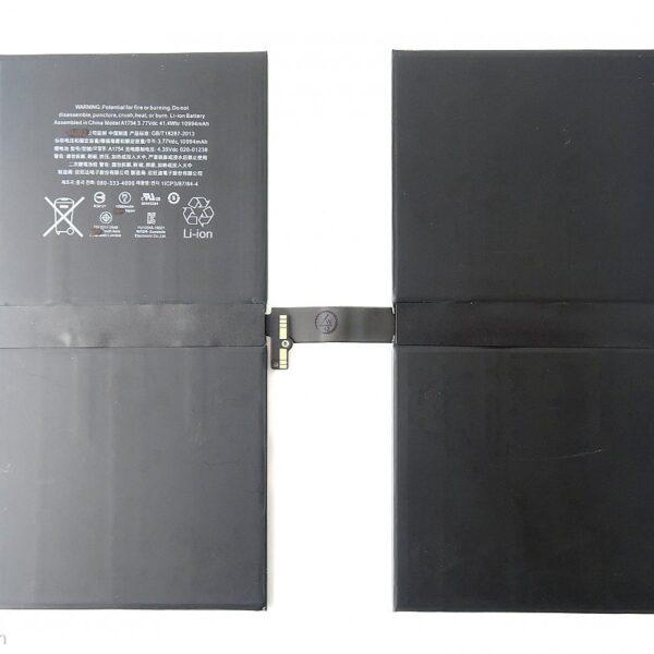 باتری آیپد پرو 12.9 اینچ نسل سوم مدل ۲۰۱۸   باتری آیپد مدل A1876 - A1895 - A1983 - A2014